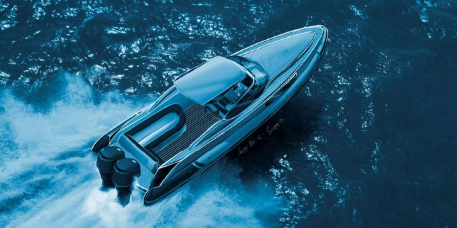New outboard Sting yacht tender concept