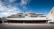 New 80m CRN 129 megayacht Chopi Chopi scheduled for launch on January 12