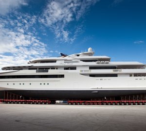 CRN Ancona to launch the 80m CRN 129 motor yacht CHOPI CHOPI on January 12