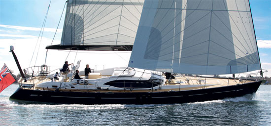 Oyster 625 sailing yacht Guardian Angel