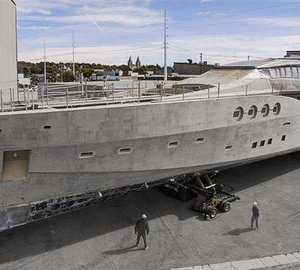 PJ 210 motor yacht Project Stimulus designed by Nuvolari Lenard due for delivery in 2013