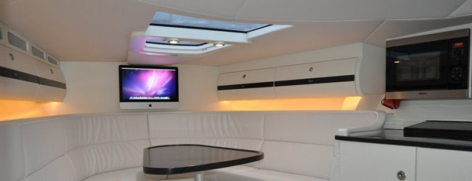 Ribbon 45SC yacht tender - Interior