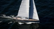 SW 94 superyacht Windfall by Southern Wind during her sea trials in Cape Town