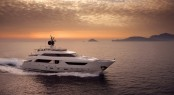 Sanlorenzo SD122 Superyacht recently delivered to Hong Kong