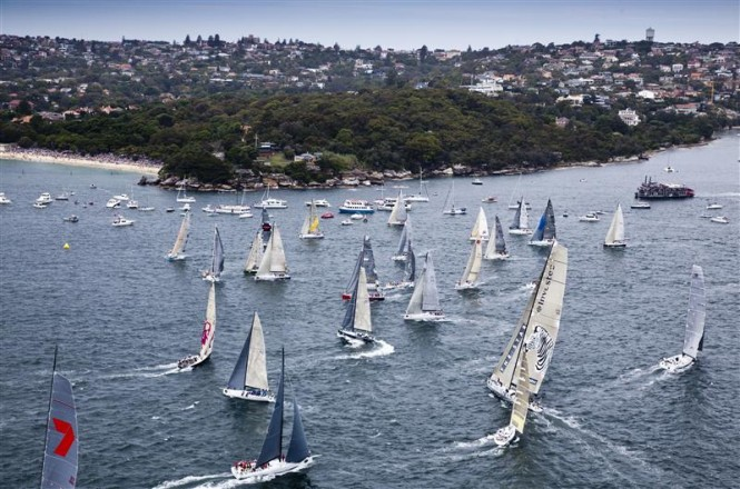 Start of the Rolex Sydney Hobart Yacht Race - Photo credit RolexDaniel Forster