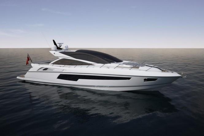 Sunseeker 68 yacht