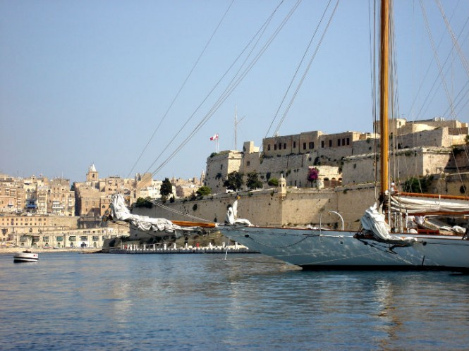 Superyacht Eleonora at Grand Harbour Marina
