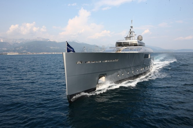Superyacht Exuma -  photo courtesy of Perini Navi