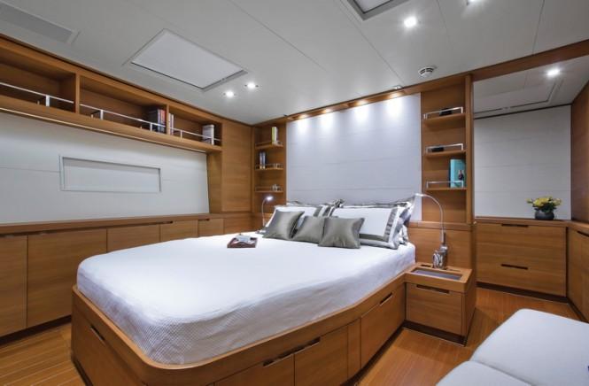 Superyacht Windfall - Master cabin
