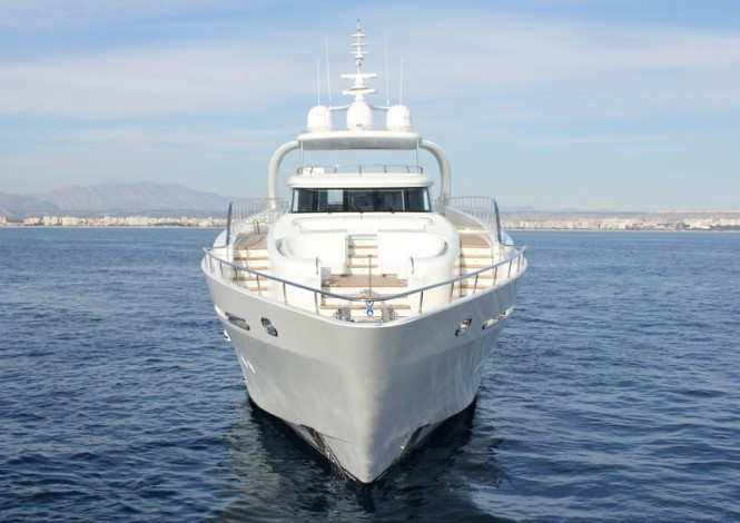 Vicem superyacht Bronko I - front view