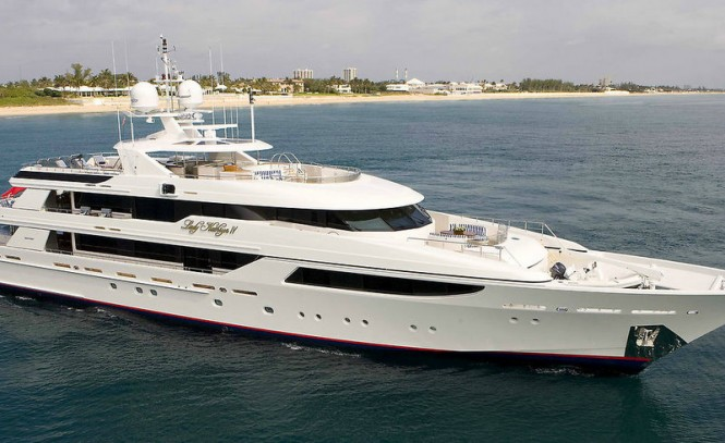 Westport 164 superyacht Lady Kathryn IV - a sistership to luxury yacht Annastar