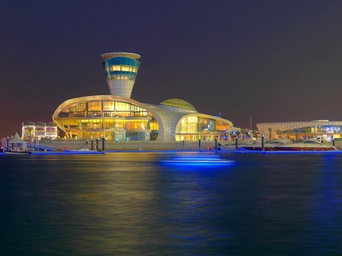 Yas Marina by night