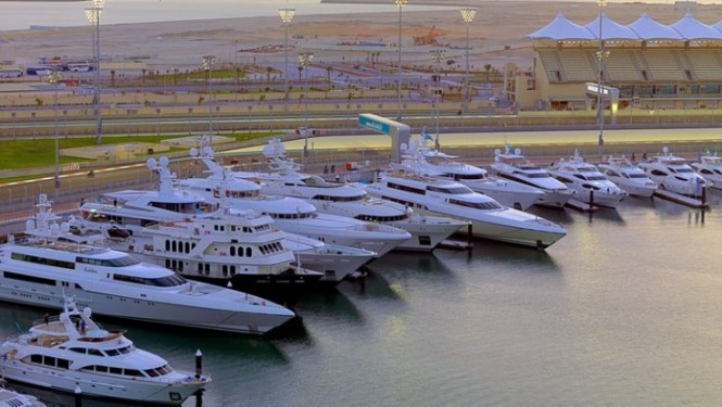 Yas Marina hosting plenty of luxury superyachts
