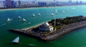 Yas Marina situated in a fabulous yacht charter destination - Abu Dhabi