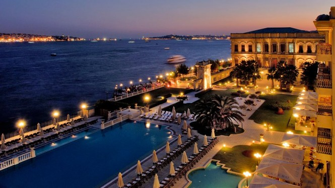 Çırağan Palace Kempinski in Istanbul to host World Superyacht Awards 2013