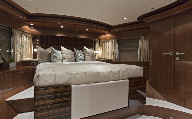 125ft superyacht Gigi II - VIP Cabin