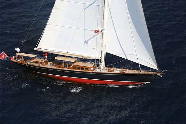 32 m Proteksan Turquoise Yacht Simba designed by Hoek