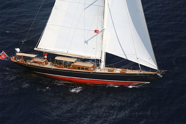 32 m Proteksan Turquoise Yacht Simba designed by Hoek