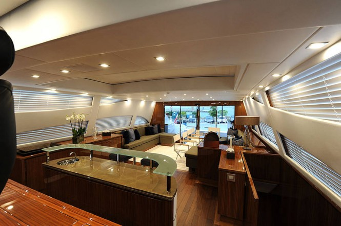 34m superyacht Phoenician - Interior