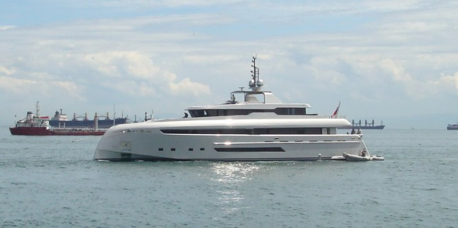 40 m luxury motor yacht M by Bilgin