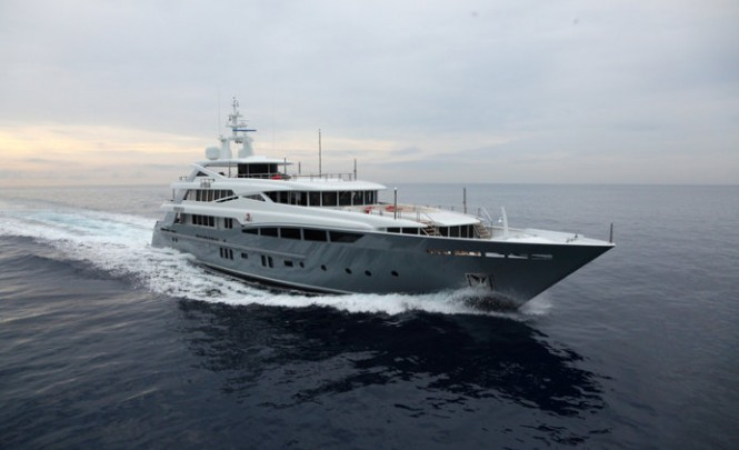 46 m Rossinavi superyacht 2 Ladies designed by Mulder
