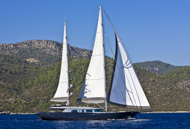 46 m Royal Craft Yachting motorsailer yacht 60 Years under sail