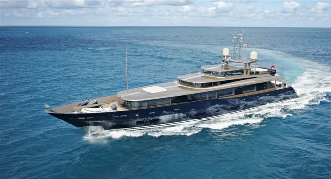 47 m Alloy superyacht Loretta Anne designed by Dubois