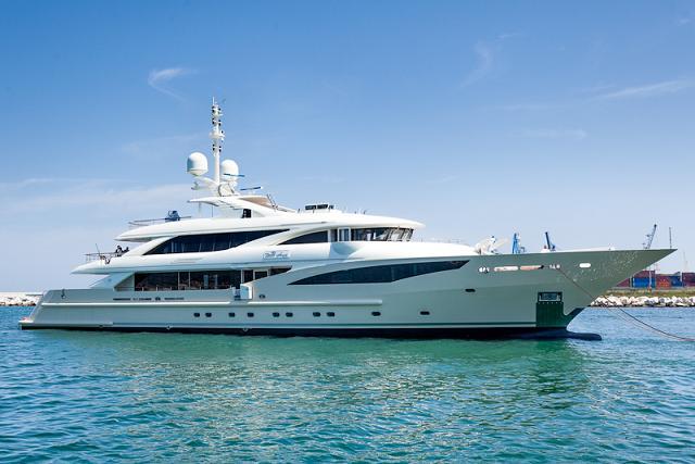 50 m ISA superyacht BELLE ANNA