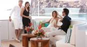 50m ARIANNA yacht  - sundeck