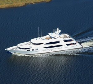 New 50m superyacht LADY SURA delivered by Trinity Yachts
