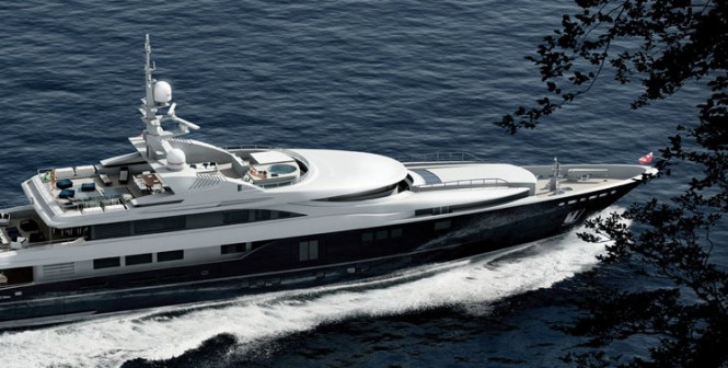 54 m luxury motor yacht Rahil by Mariotti Yachts