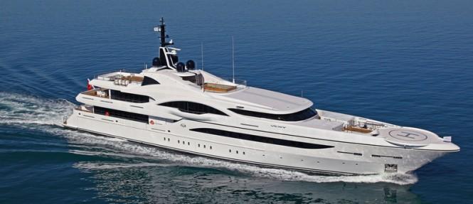 72 m Proteksan Turquoise Vicky superyacht