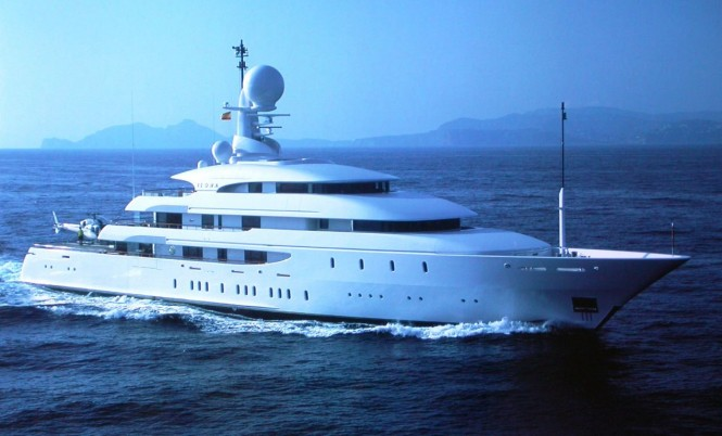 74 m Amels mega yacht Ilona