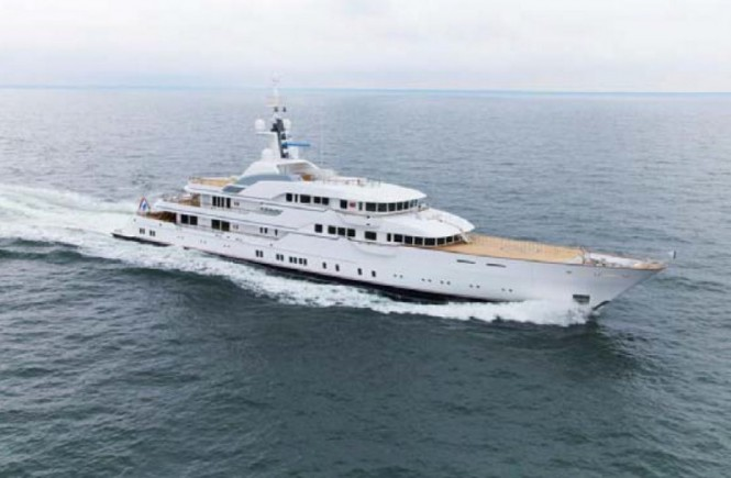 78 m Feadship superyacht Hampshire