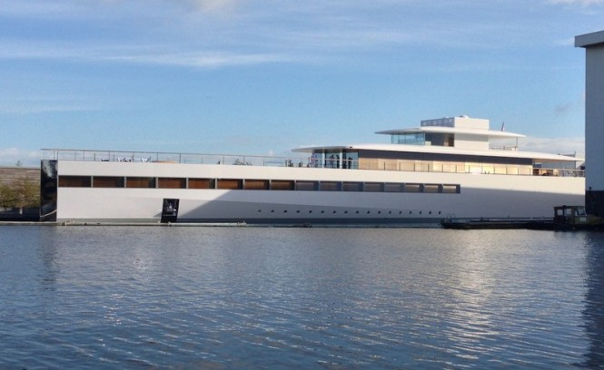 78m Feadship megayacht VENUS (Project Aqua) - Photo by OneMoreThing.nl