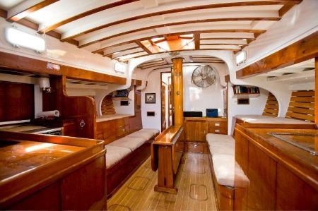 Major Refit For 1948 Classic Sailing Yacht Alert By Claasen Shipyards Yacht Charter