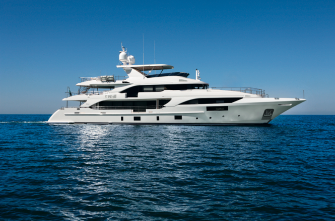 Benetti Classic Supreme 132 Yacht Photo credit Thierry Ameller