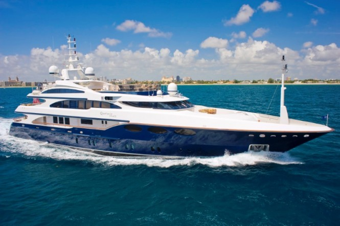 52 m Benetti luxury yacht Elysium before her 2012 refit by Lusben