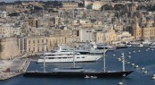 CNM's Grand Harbour Marina situated in a popular Mediterranean yacht charter location - Malta