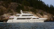 Crescent 120' motor yacht Encore refitted by Platinum Marine