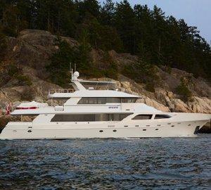 Platinum Marine's New Transformational Refit of Crescent 120' motor yacht ENCORE