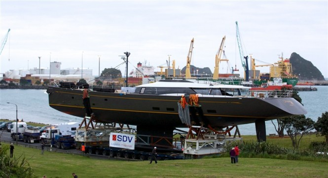 Dubois designed 50 m Fitzroy Yacht Ohana (G50) at launch
