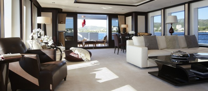 Feadship superyacht Helix - Main Lounge