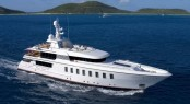 Feadship superyacht Helix based on the same F45 Vantage concept as Blue Sky yacht