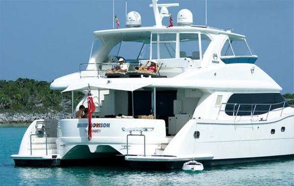 Horizon catamaran yacht PC60