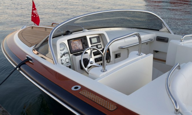Hull 414 superyacht tender - Dashboard