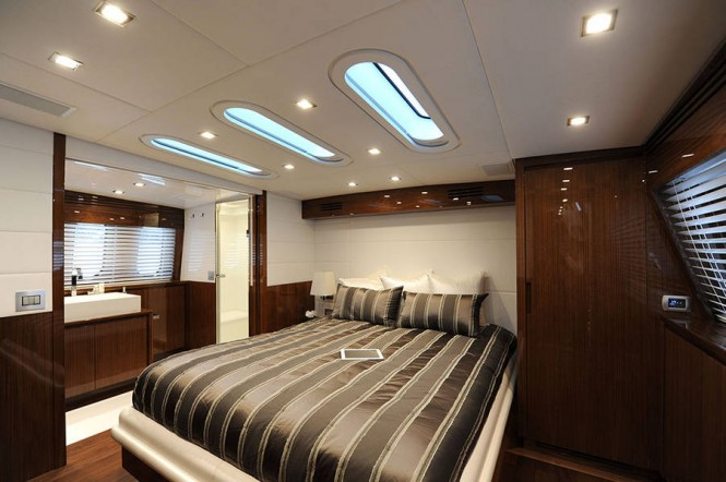 Italyachts superyacht Phoenician - Cabin