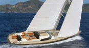 Jongert 3200P luxury yacht P1113 styled by Rhoades Young Design
