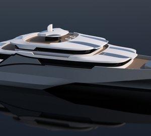 Breathtaking 102 m yacht design by Misha Merzliakov