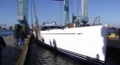 Launch of the first Oyster 125 sailing yacht Twilight